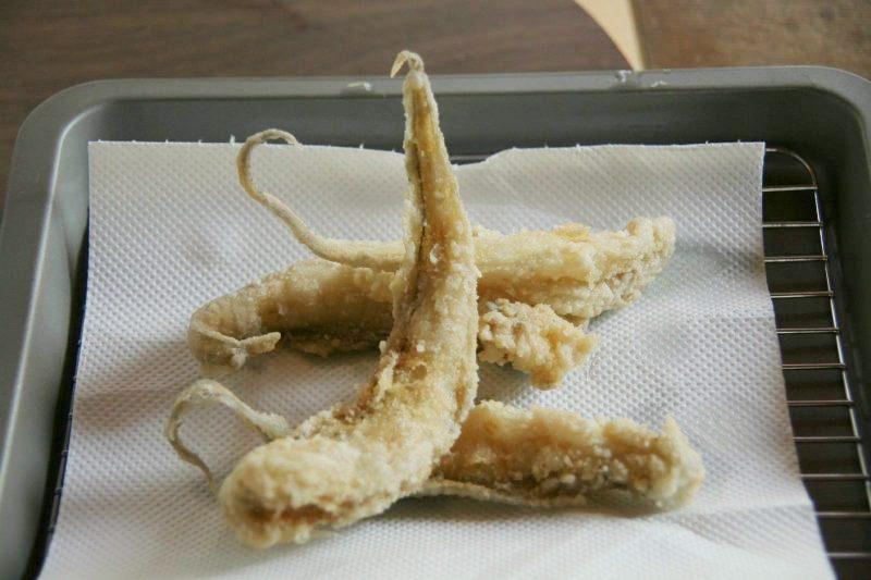 ゲンゲの天ぷら