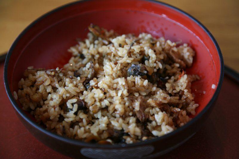 宍道湖七珍料理 シジミ御飯