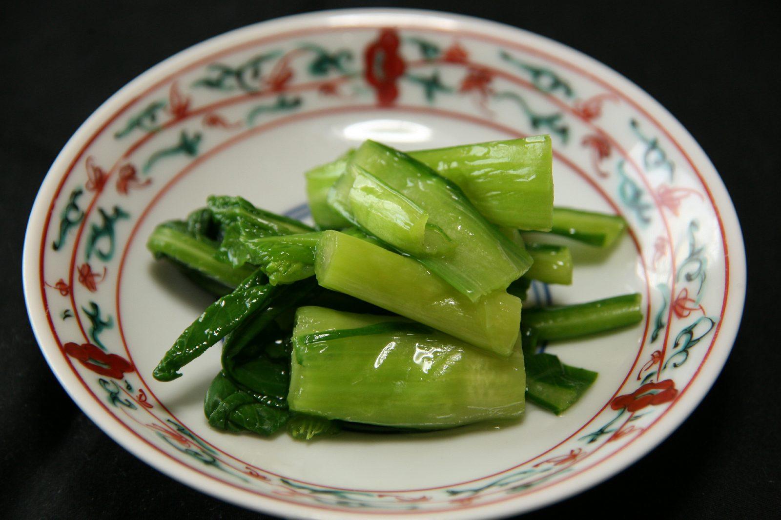 女池菜の漬物