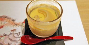 フカヒレ冷製茶碗蒸し